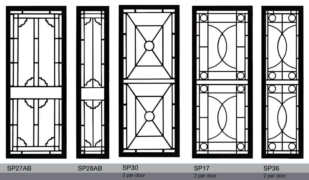 decorative colonial classic motif design grilles