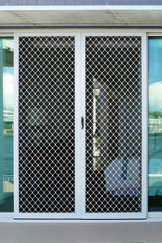diamond sliding security door