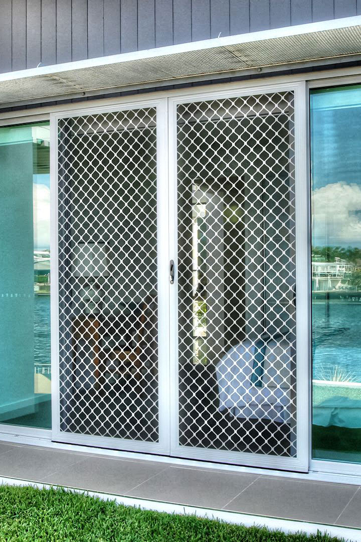 diamond grille sliding door main photo