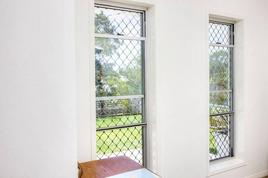 diamond window security screen