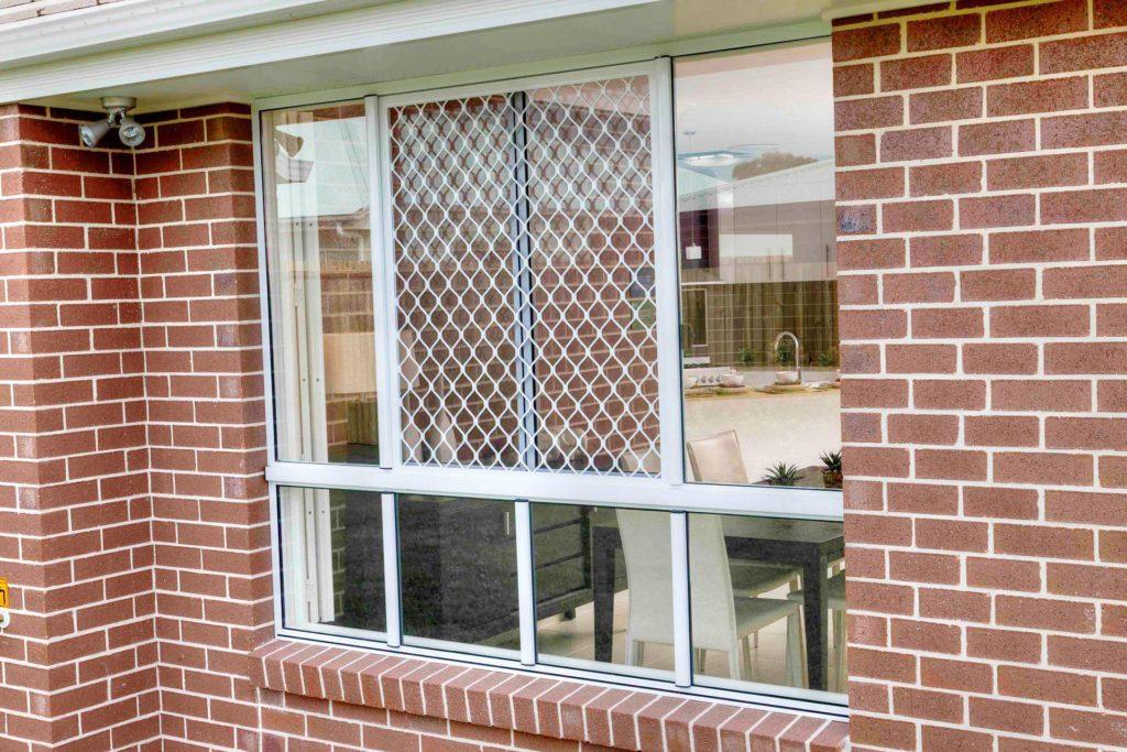diamond window security screen
