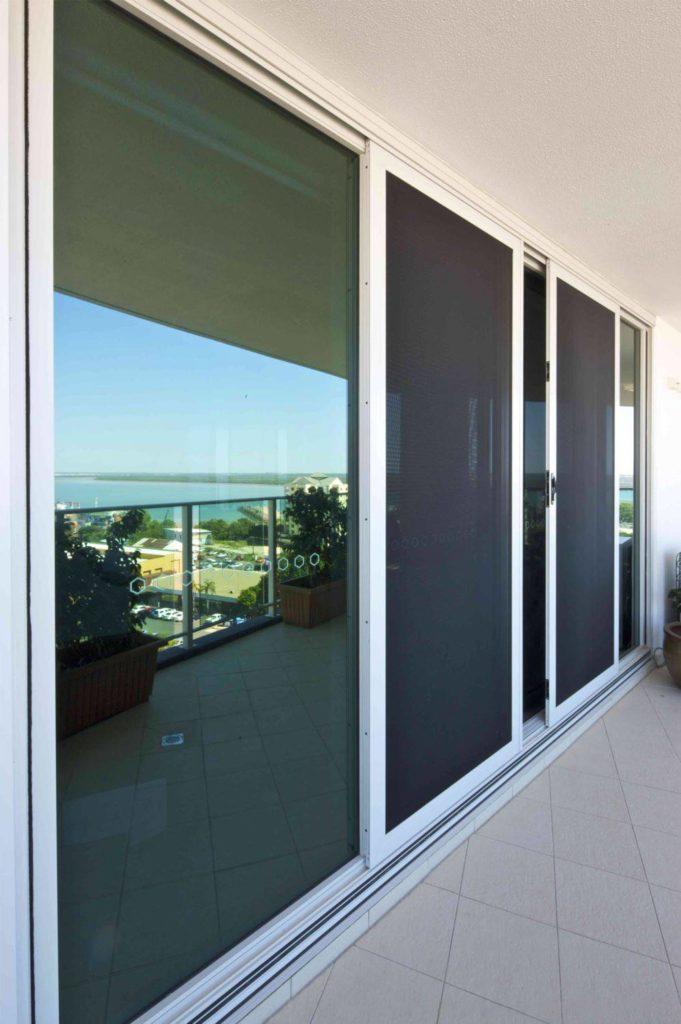 screen sliding doors