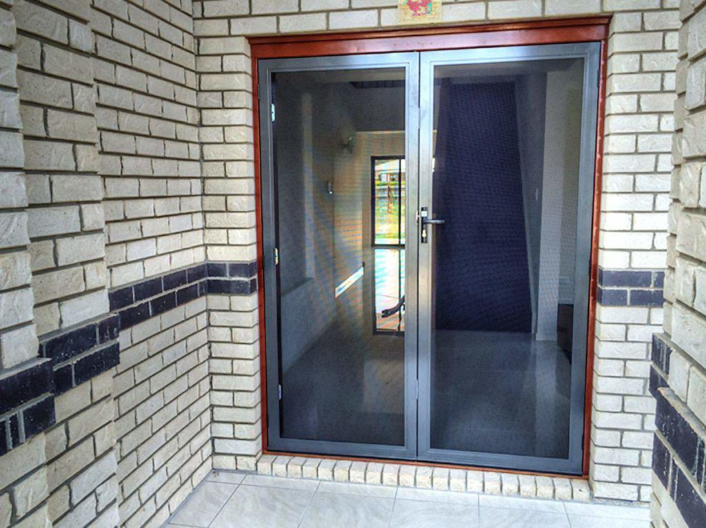 Doors With Screen: Security Doors & Screens - Valesco Security
