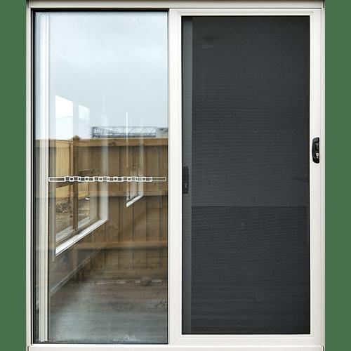 sliding security door in surftmist colour
