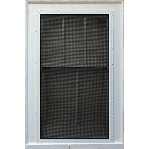 window security screen in white colour